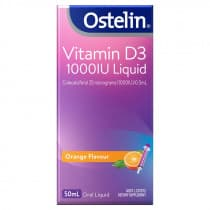 Ostelin Vitamin D3 1000IU Liquid 50ml