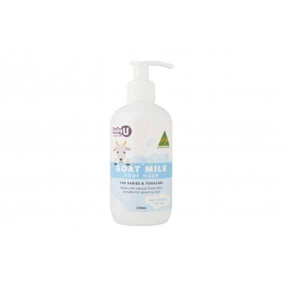 babyU Goat Milk Body Wash 250ml
