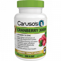 Carusos Cranberry 30000 90 Tablets