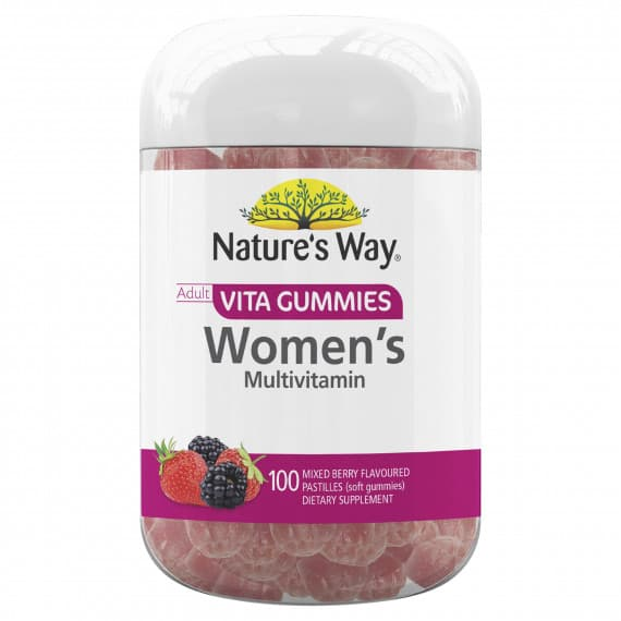 Natures Way Vita Gummies Womens Multivitamin 100 Gummies