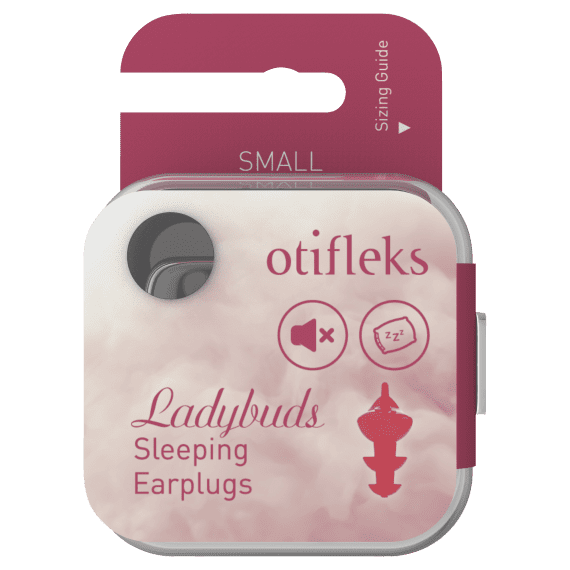 Otifleks Ladybuds Sleeping Earplugs Small 1 Pair