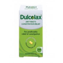 Dulcolax 5mg 200 Tablets
