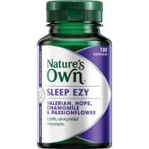 Natures Own Sleep Ezy 100 Capsules