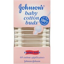 Johnsons Baby Cotton Buds 60 Pack