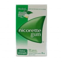 Nicorette Nicotine Gum Fresh Mint 4mg 30 Pieces