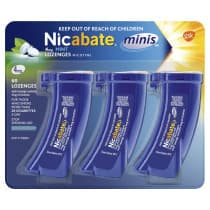 Nicabate Mini 4mg Mint 60 Lozenges