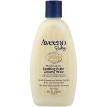 Aveeno Baby Fragrance Free Soothing Relief Creamy Wash 140g