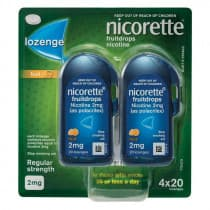 Nicorette Nicotine Lozenges Fruit 2mg 80 Lozenges