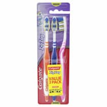 Colgate ZigZag Toothbrush Medium 3 Pack